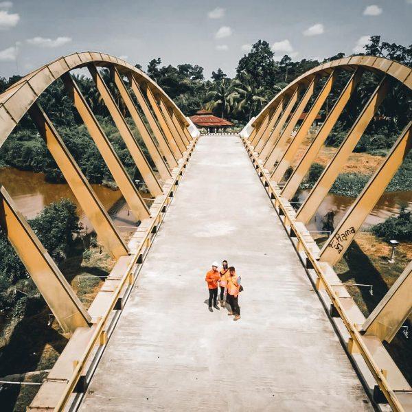 Structural assessment & Testing Jembatan kupu-kupu